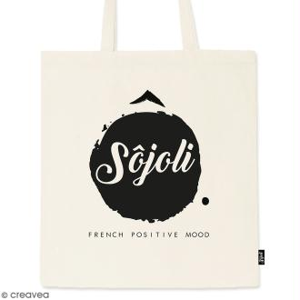 Tote bag Sôjoli - Collection Corporate - 36 x 42 cm