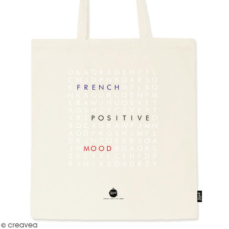 Tote bag Mots Mêlés - Collection Corporate - 36 x 42 cm - Photo n°1