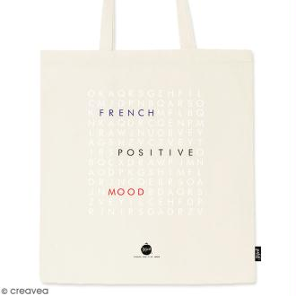 Tote bag Mots Mêlés - Collection Corporate - 36 x 42 cm