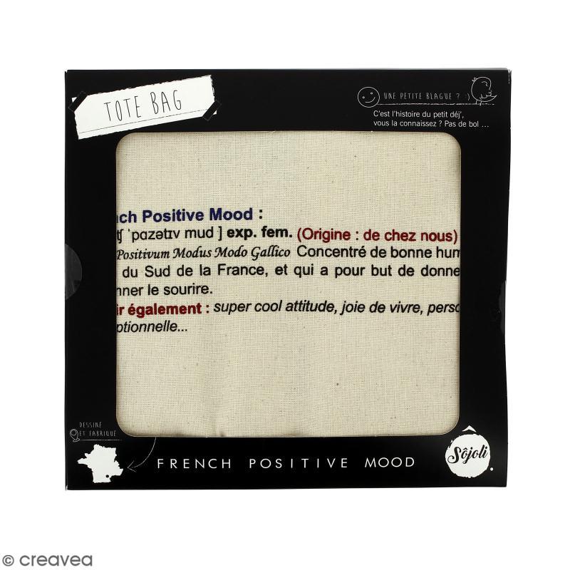 Tote bag FPM Kezako - Collection Corporate - 36 x 42 cm - Photo n°2