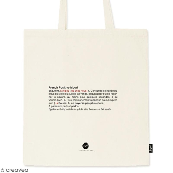 Tote bag FPM Kezako - Collection Corporate - 36 x 42 cm - Photo n°1
