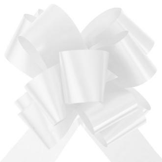 10 Grands noeuds automatiques blanc