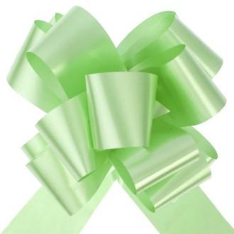 10 Grands noeuds automatiques vert anis