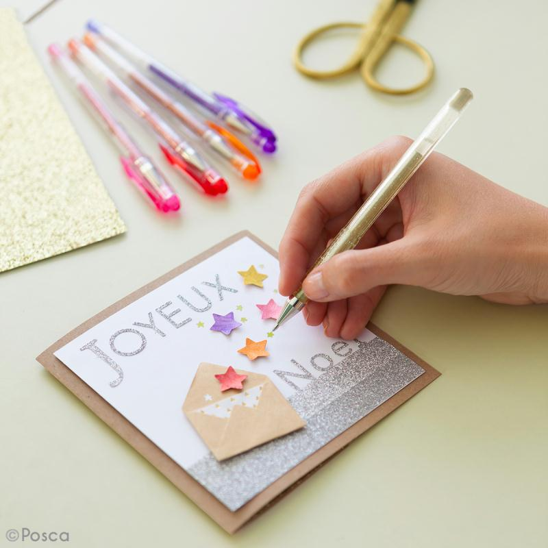 Coffret stylos gel pailleté et pastel - Coloring Worskshop - 8 stylos - Photo n°2