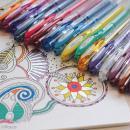 Coffret stylos gel pailleté et pastel - Coloring Worskshop - 8 stylos - Photo n°5