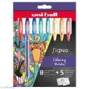 Coffret stylos gel pailleté et pastel - Coloring Worskshop - 8 stylos - Photo n°1