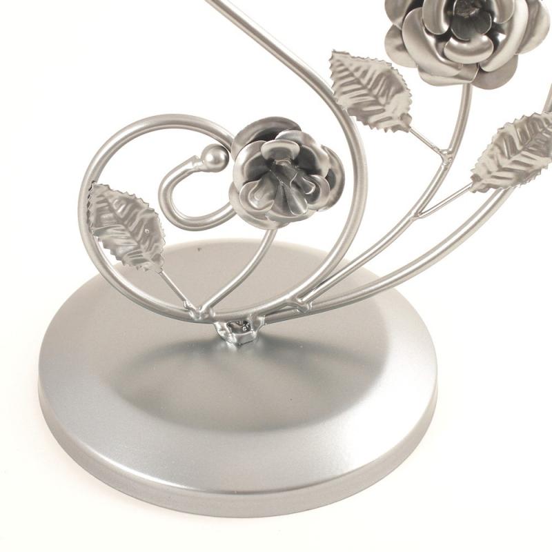grand porte bijoux ombrelle collier bracelet et boucles gris pr sentoir mixte creavea. Black Bedroom Furniture Sets. Home Design Ideas