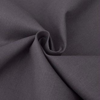 vidaXL Tissu en coton 1,45x20 m Anthracite
