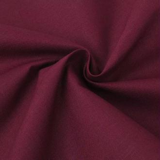 vidaXL Tissu en coton 1,45x20 m Bordeaux