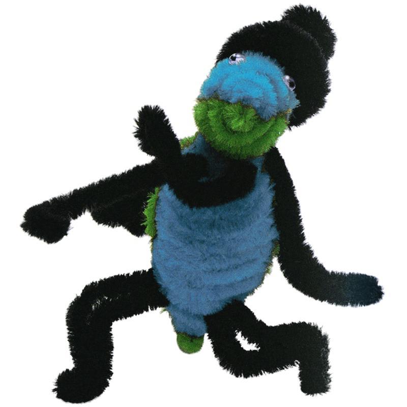 Fil chenille Bleu clair 50 cm - Lot de 10 - Photo n°2
