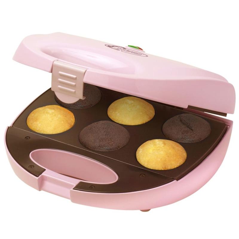 Appareil cupcakes rose 750 w bestron dcm8162 petit for Appareils electromenagers cuisine