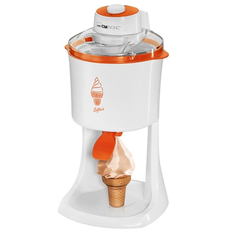 Clatronic machine glace l 39 italienne 18 w icm 3594 for Arte cuisine des terroirs