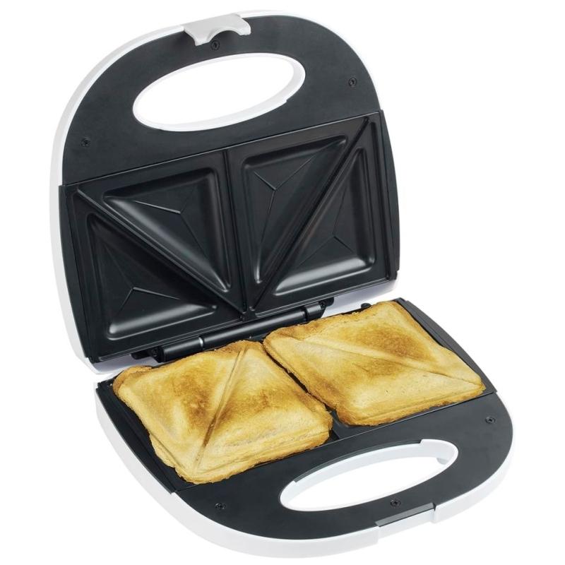 Bestron appareil croque monsieur blanc 700 w asm108w for Appareil de cuisine thermomix