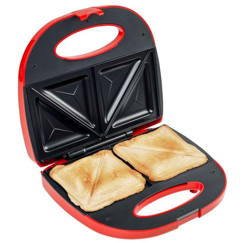 Bestron appareil croque monsieur rouge 700 w asm108r for Appareil de cuisine thermomix