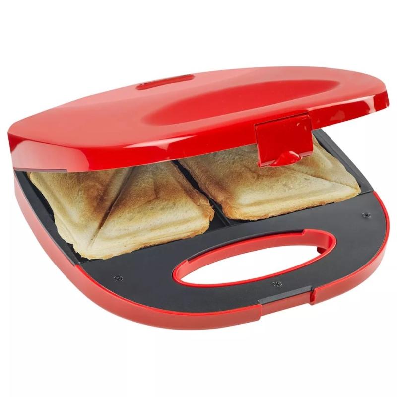 Bestron appareil croque monsieur rouge 700 w asm108r for Appareil vapeur cuisine
