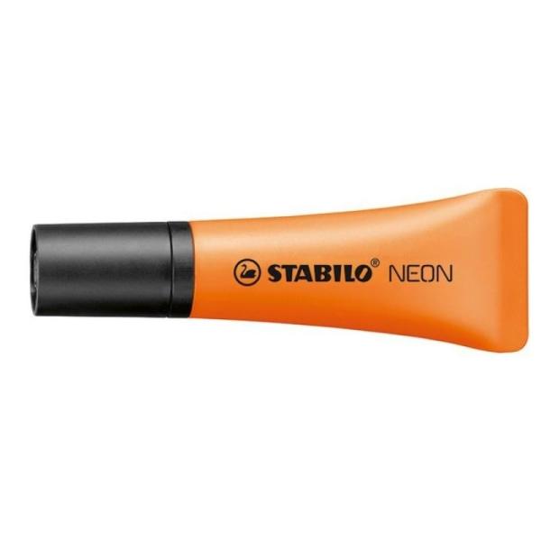 Surligneur Stabilo Néon  - Orange - Photo n°1