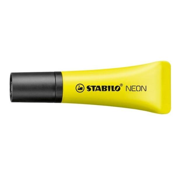 Surligneur Stabilo Néon  - Jaune - Photo n°1