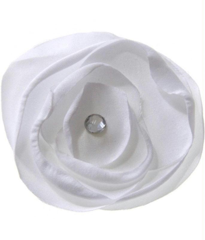 Accessoires fleur en tissu pour la de bijoux et for Accessoires de rangement pour cuisine