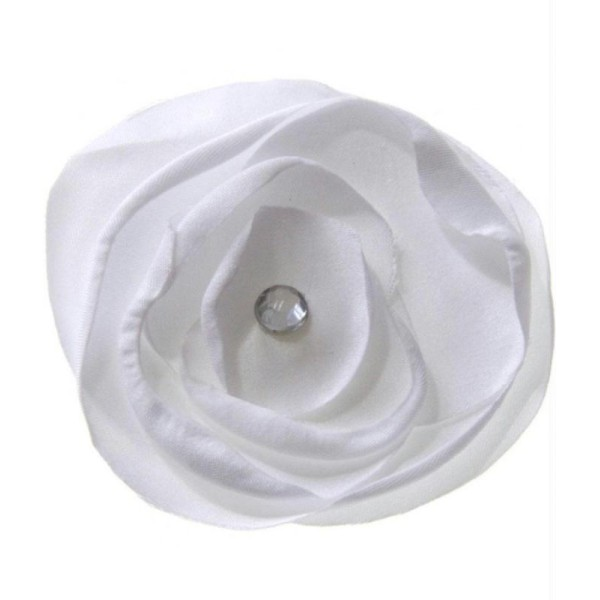 Accessoires fleur en tissu pour la de bijoux et accessoires 5 pièces - Photo n°1