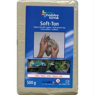 Pain de terre argile Blanche 500g