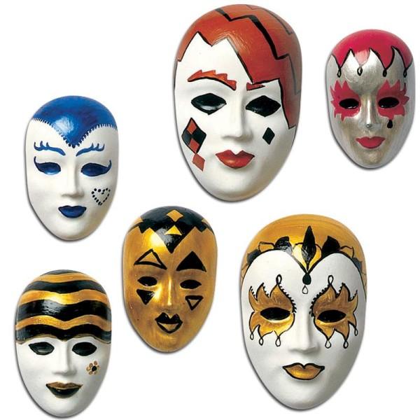 Moule relief Masque x10 - Photo n°6
