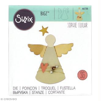 Matrice Sizzix Bigz - Ange - 1 pce
