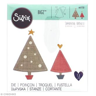 Matrice Sizzix Bigz - Sapin de Noël - 1 pce