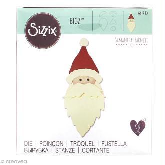 Matrice Sizzix Bigz - Père Noël - 1 pce
