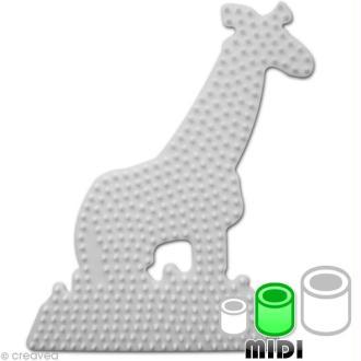 Plaque pour perles Hama Midi - Girafe