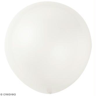 Maxi Ballons de baudruche Rico Design YEY - Transparent - 90 cm - 2 pcs