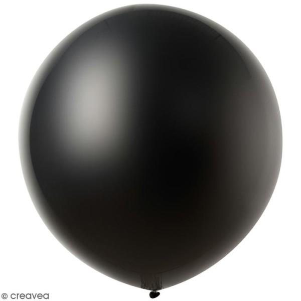 Maxi Ballons De Baudruche Rico Design Yey Noir 90 Cm 2 Pcs