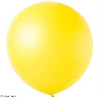 Maxi Ballons de baudruche Rico Design YEY - Jaune - 90 cm - 2 pcs