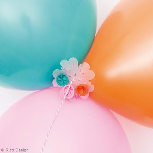 Attache ballon pour guirlande - 20 pcs - Photo n°2