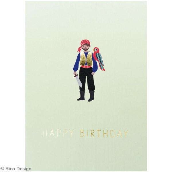 Set cartes postales - Pirate - 12,5 x 17,6 cm - 15 pcs - Photo n°2