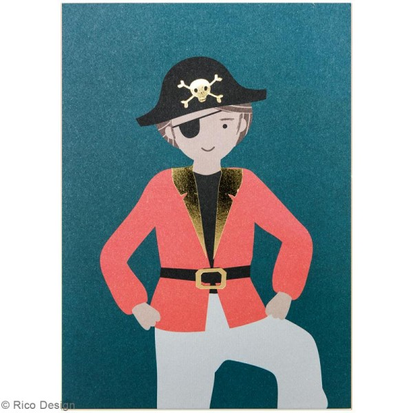 Set cartes postales - Pirate - 12,5 x 17,6 cm - 15 pcs - Photo n°3