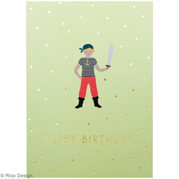 Set cartes postales - Pirate - 12,5 x 17,6 cm - 15 pcs - Photo n°4