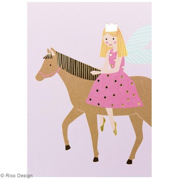 Set cartes postales - Princesse - 12,5 x 17,6 cm - 15 pcs - Photo n°4