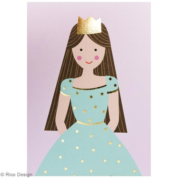 Set cartes postales - Princesse - 12,5 x 17,6 cm - 15 pcs - Photo n°6