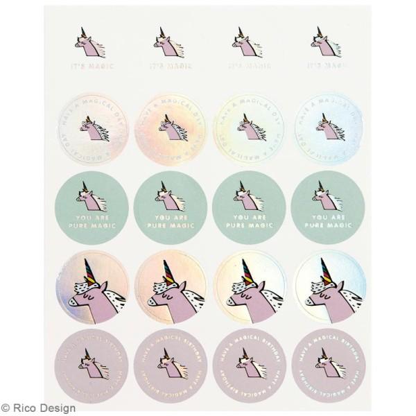 Stickers - Magical summer licorne - 265 pcs - Photo n°2