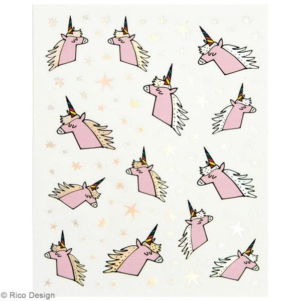 Stickers - Magical summer licorne - 265 pcs - Photo n°4