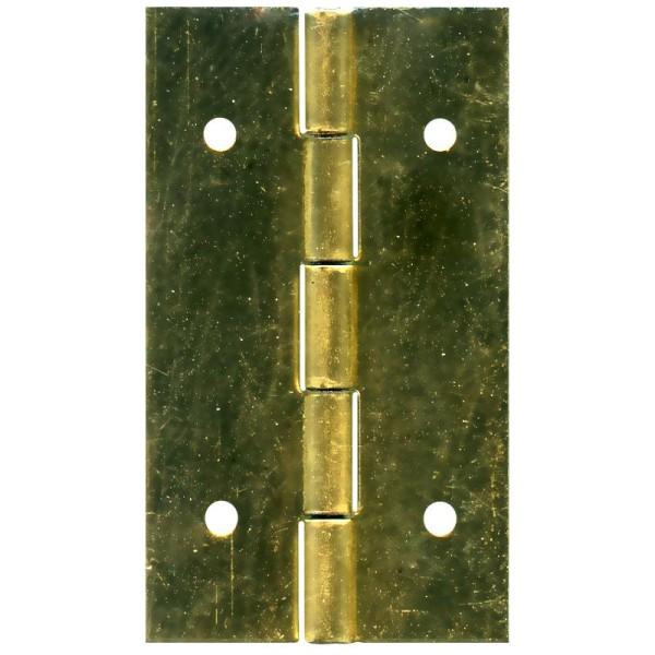 Charnière à clouer dorée 15 x 25 mm - Lot de 4 - Photo n°1