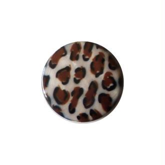 2 perles rondes fabrication bijoux en nacre 3 cm SAVANE