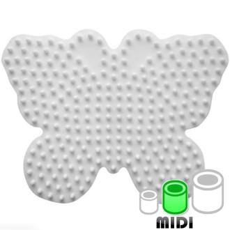 Plaque pour perles Hama Midi - Papillon