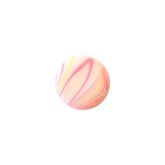 3 perles carrées fabrication bijoux en nacre 2 cm ACIDULE ROSE JAUNE BLANC