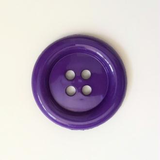 Gros Bouton Clown 50mm : Violet