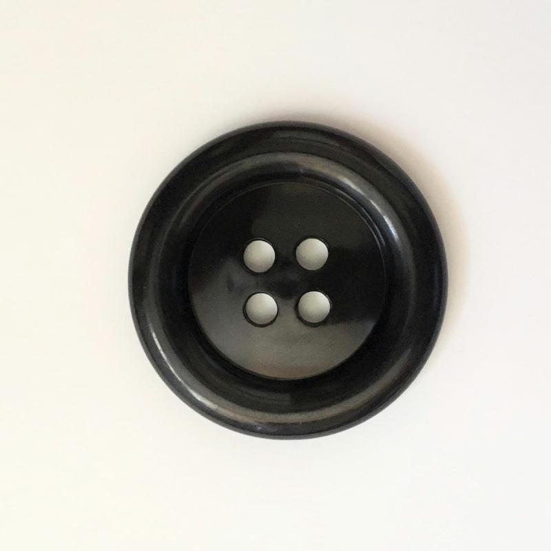 N°160 44mm de diamètre Couleur noir Très gros bouton des années 50