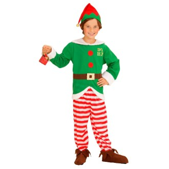 Déguisement d'elfe du père noël - 5/7 ans