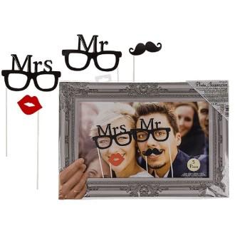 Accessoires Photobooth Mr et Mrs