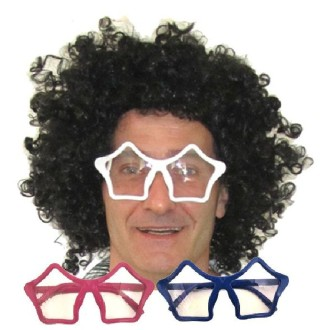Lunettes groovy assorties