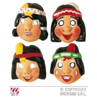 1 Masque enfant d'indien